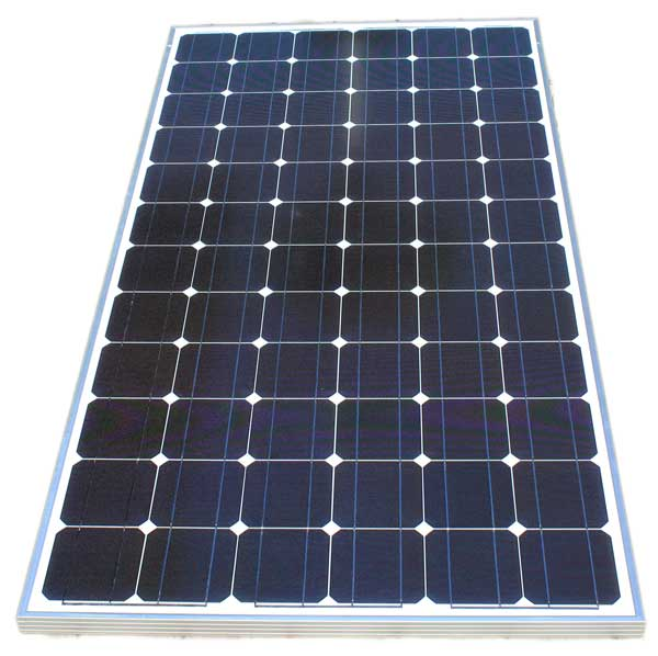Solar panel used to operature the solar well pump system