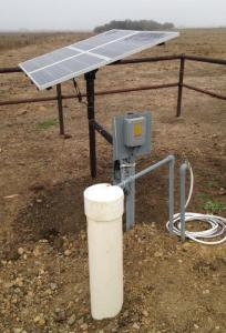 RPS1.8-80 Solar Well Pump System Installed