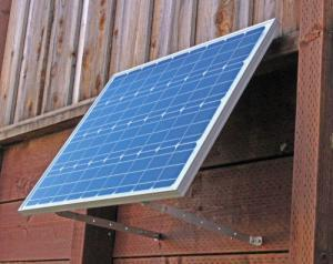 wallmount solar panels