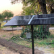 RPS solar well pump is working beautifully