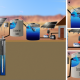 Submersible Pump to Sediment Tank with Booster for Household Water